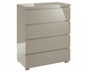 Puro Stone High Gloss 4 Drawer Chest