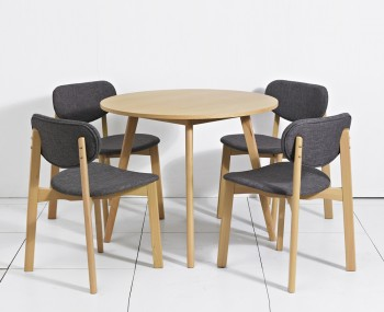 Portobello Tropical Hardwood Dining Table and Chairs