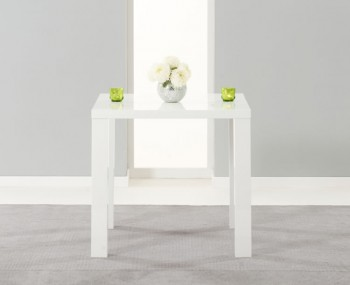 Earlham Small White High Gloss Dining Table