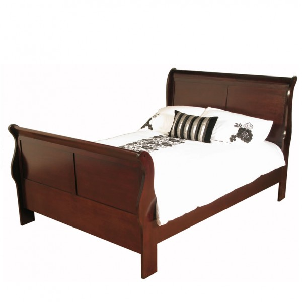 claremont cherry bed frame