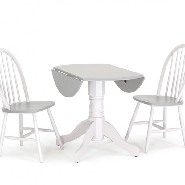 Ryder two tone drop leaf table and chairs - Drop leaf table and chairs uk ...