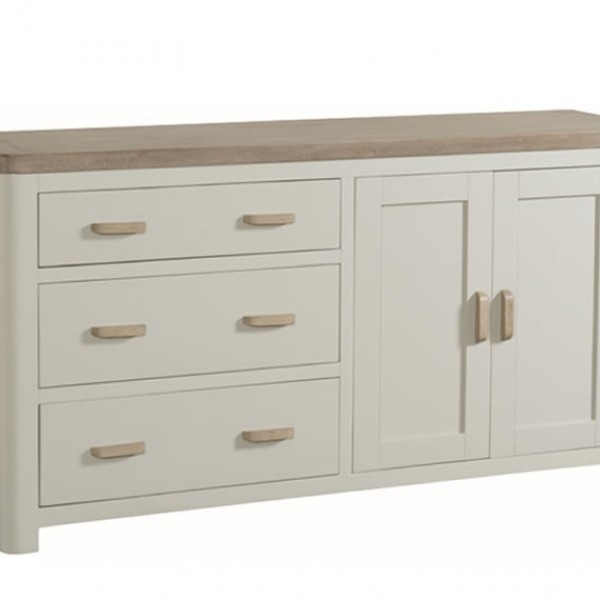 cabinet drawer angelo painted and oak large sideboard 12838