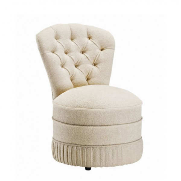 Roma Traditional Upholstered Bedroom Chair Over 100