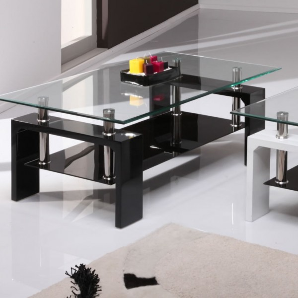 baskets for kitchen cabinets parma black high gloss and glass coffee table 100w x 60d 4334