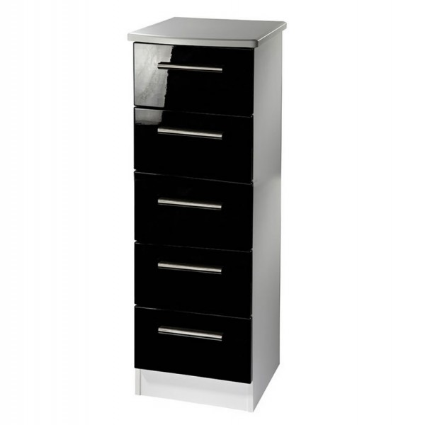 Rook Mix N Match 5 Drawer Narrow Chest Uk Delivery