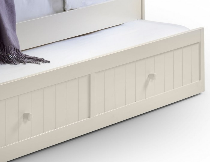 Wickham Stone White Wooden Day Bed
