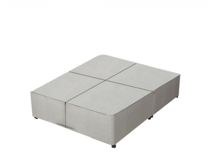 Opal divan base only split into 4 parts for Super king size bed divan base
