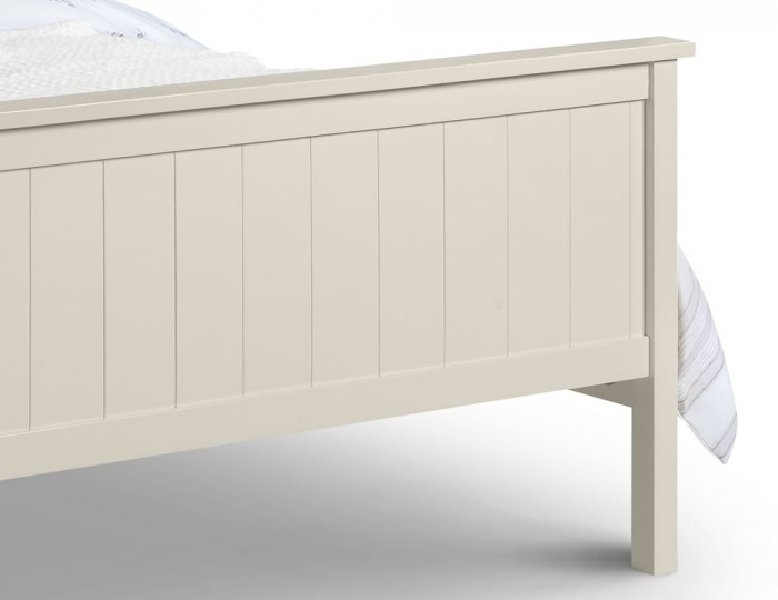 Botany Bay Off-White Lacquered Bed