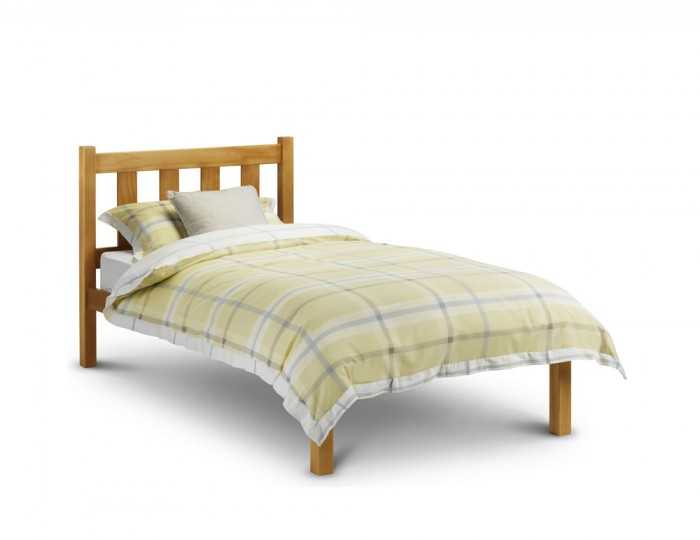 Laurie Antique Pine Bed Frame