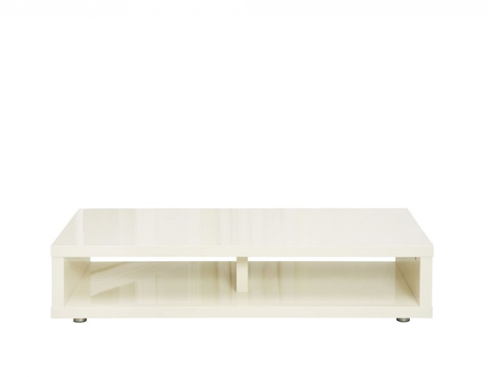 Puro Cream High Gloss TV Stand