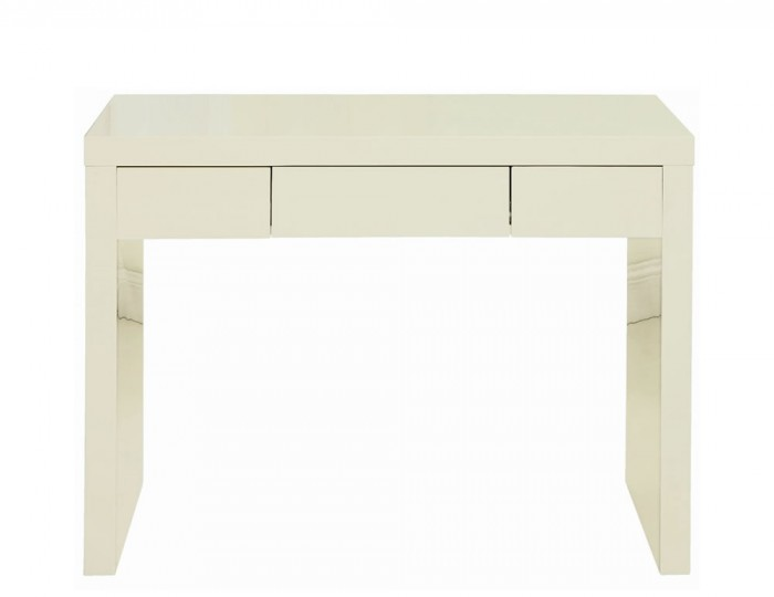 Puro Single Cream High Gloss Dressing Table