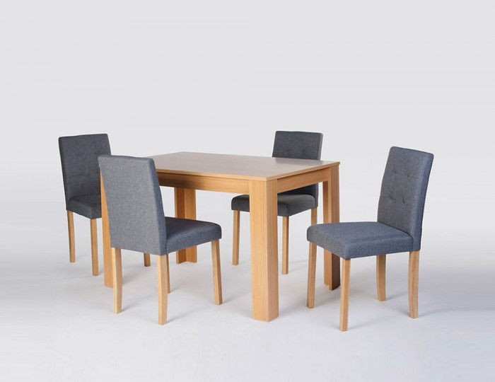 Suffolk Oak Dining Table and Chairs
