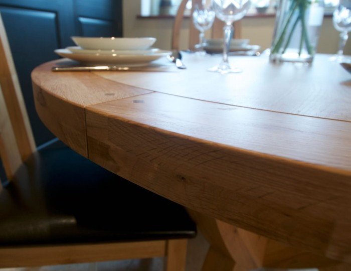 Roche Solid Oak Round Dining Set