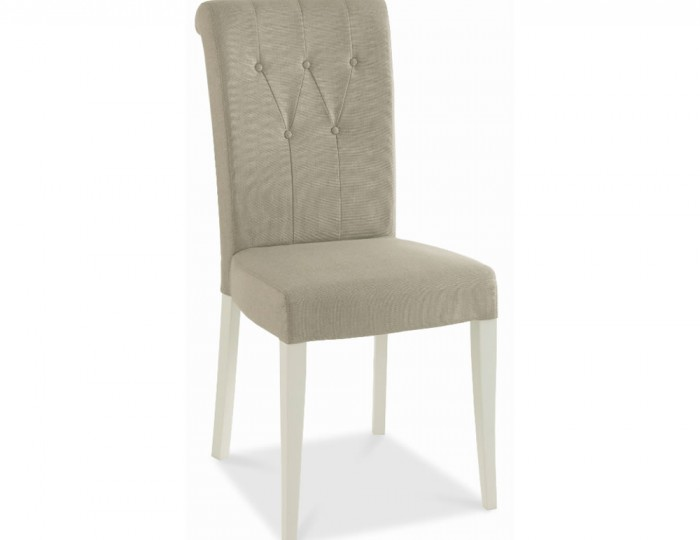 Hampstead Grey Upholstered Dining Chairs