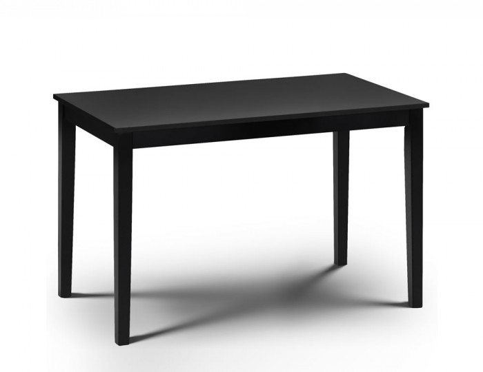Morgan Black Lacquered Dining Table