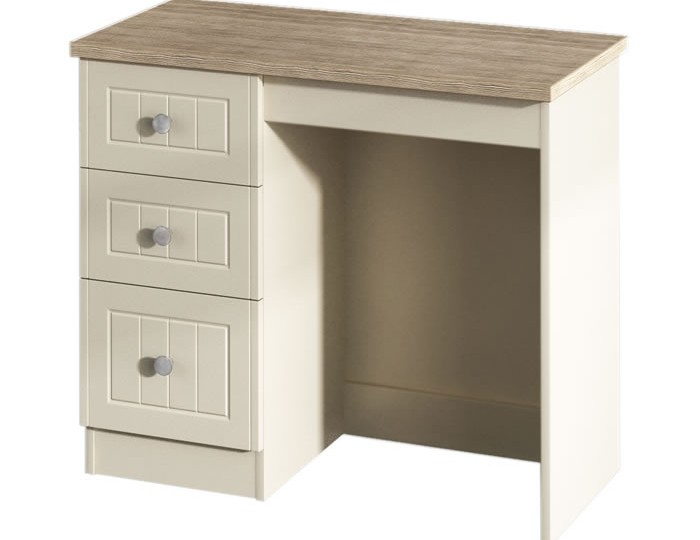 Levante Two-Tone Single Dressing Table