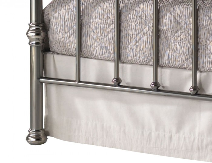 Hampshire Nickel Metal Bed Frame