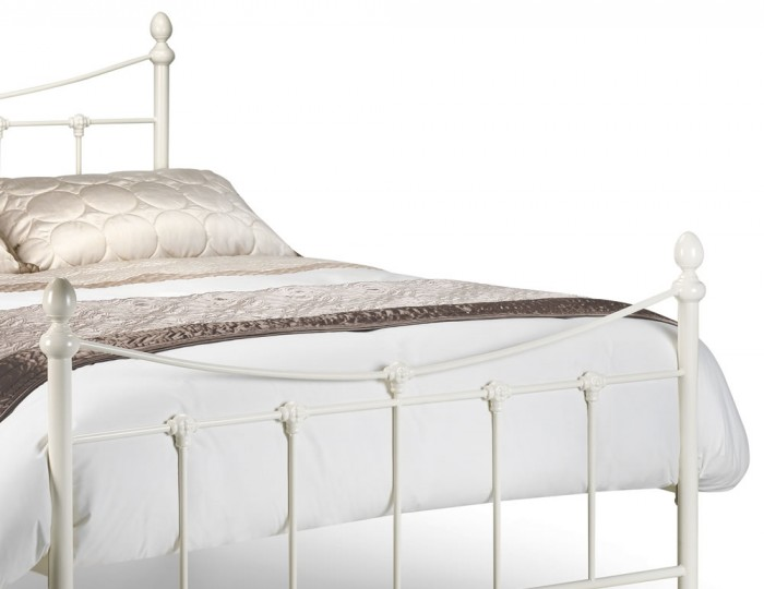 Becky White Metal Bedstead