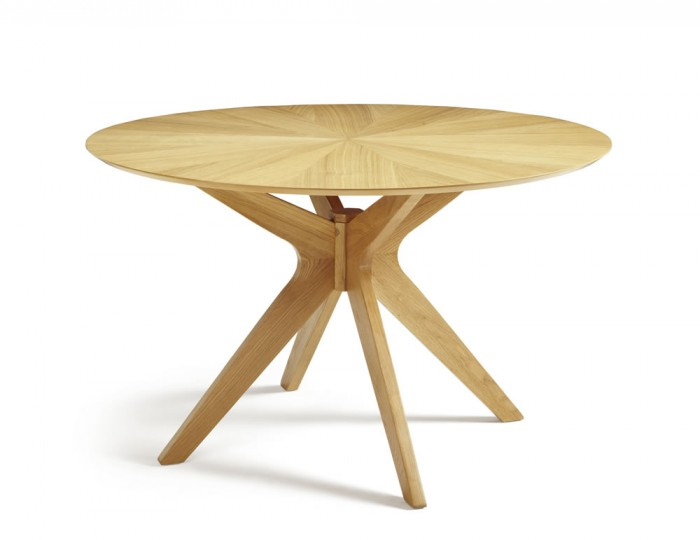 Bedford Round Oak Dining Table