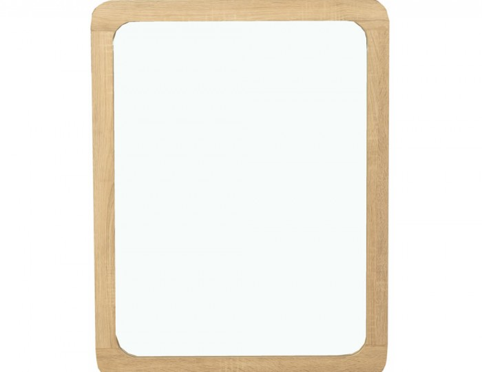 Deloro Oak Wall Mirror