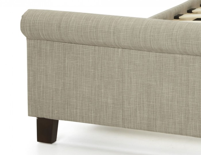 Henri Linen Upholstered Bed
