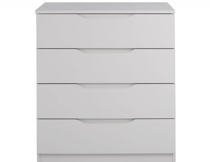 Safara 4 Drawer Cashmere High Gloss Chest