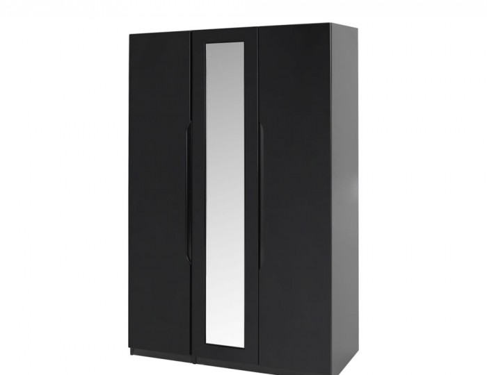 Vogue 3 Door Tall High Gloss Wardrobe