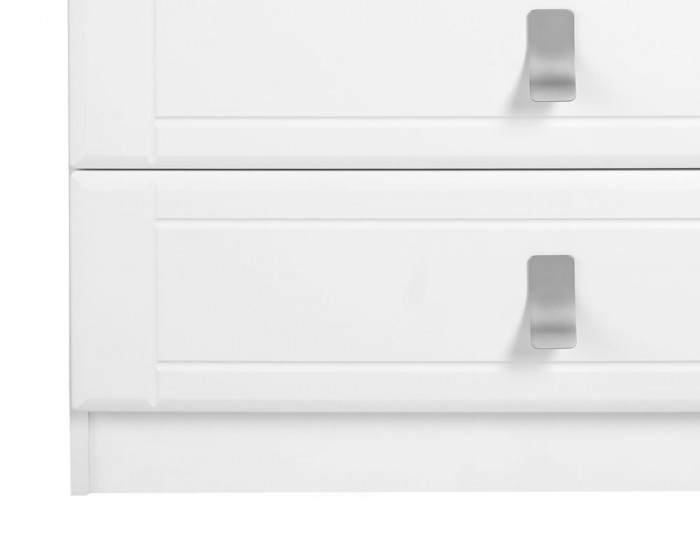 Sigrid White 4 Drawer Chest
