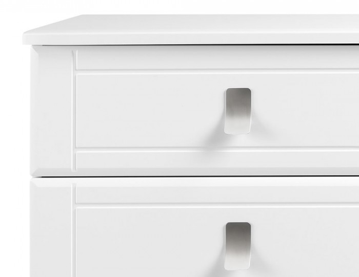 Sigrid White 8 Drawer Wide Chest
