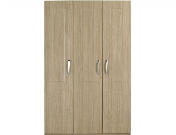 Alonzo Oak 3 Door Wardrobe