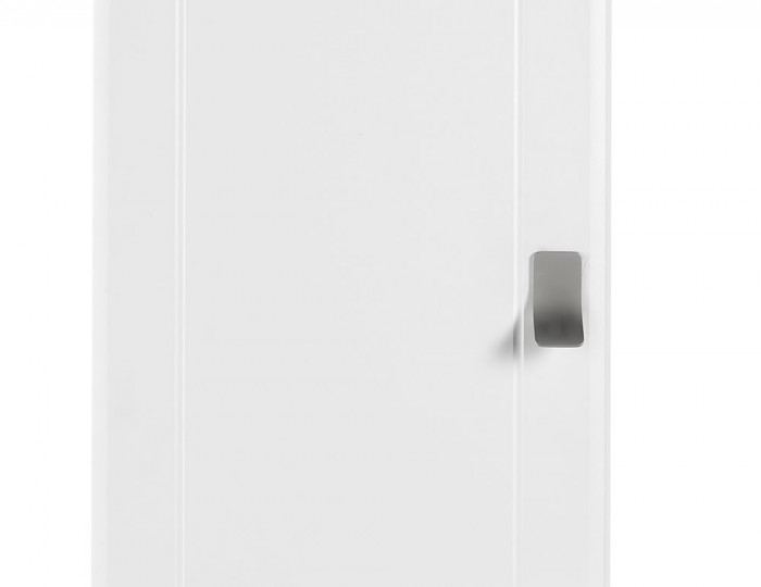 Sigrid White 1 Door Wardrobe