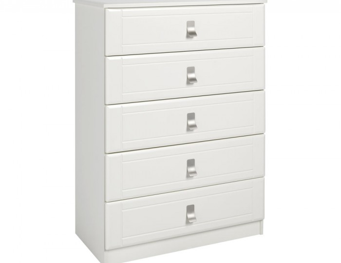 Sigrid Cream 5 Drawer Chest