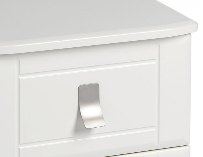 Sigrid Cream 2 Drawer Bedside Chest