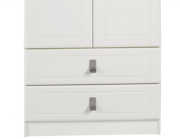 Sigrid Cream 2 Door 2 Drawer Wardrobe