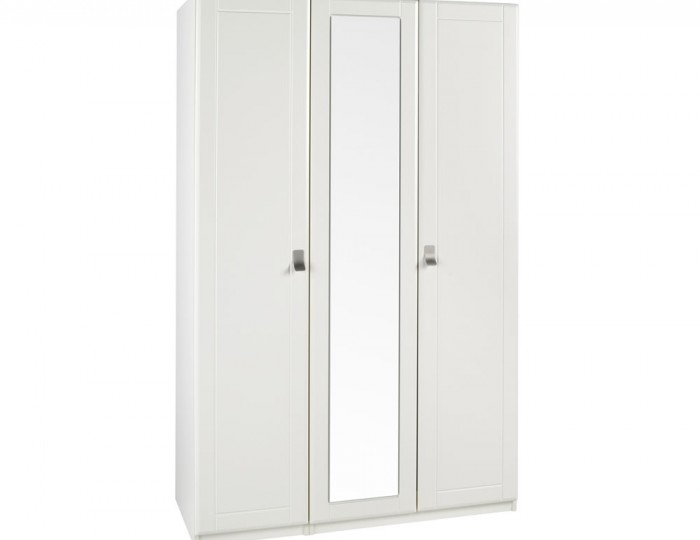 Sigrid Cream 3 Door Wardrobe