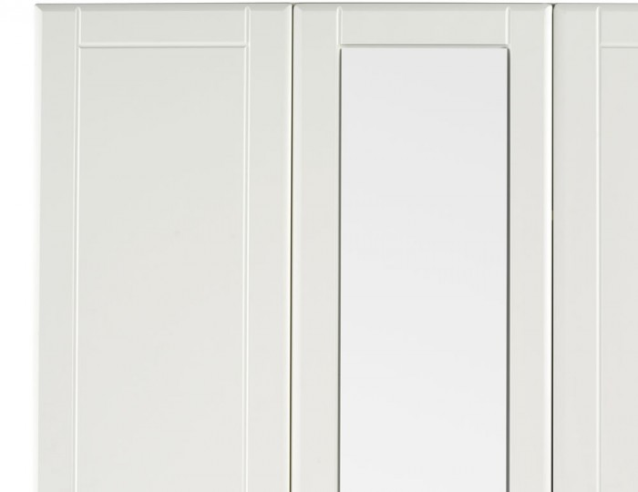 Sigrid Cream 3 Door Tall Wardrobe