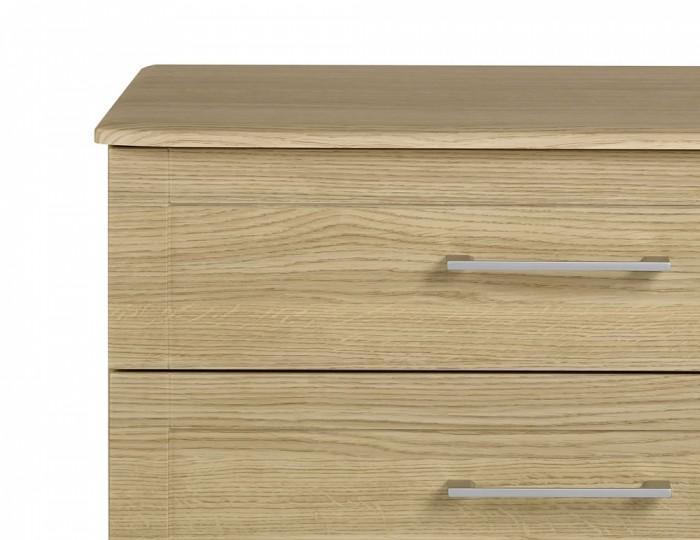 Marcello Oak 3 Drawer Chest