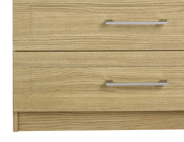 Marcello Oak 4 Drawer Chest