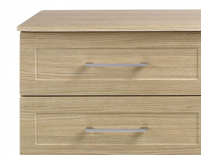 Marcello Oak 4 Drawer Bed Box Chest