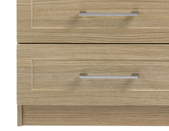 Marcello Oak 8 Drawer Wide Chest
