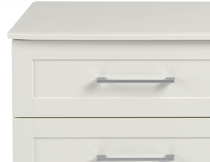 Marcello Cream 4 Drawer Bed Box Chest