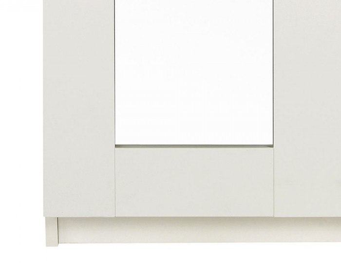 Marcello Cream 2 Door Tall Wardrobe