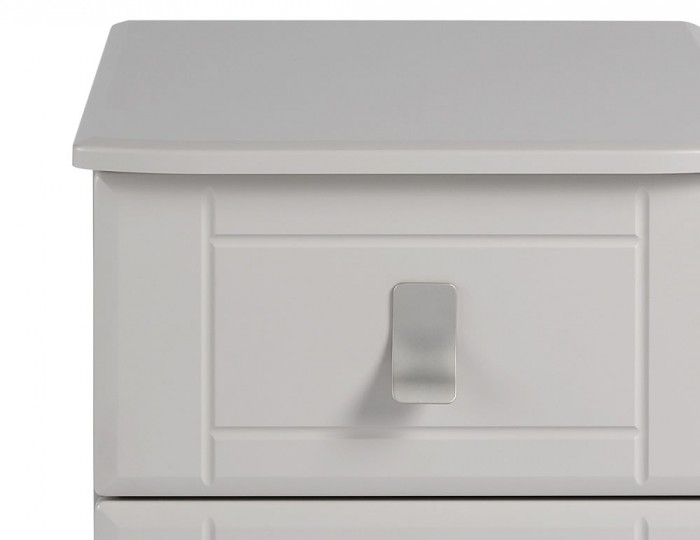 Sigrid Cashmere 3 Drawer Bedside Chest