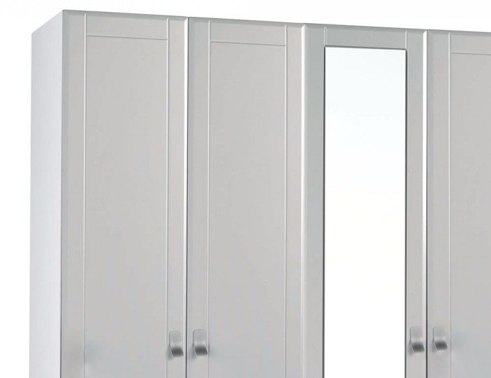 Sigrid Cashmere 5 Door Tall Wardrobe
