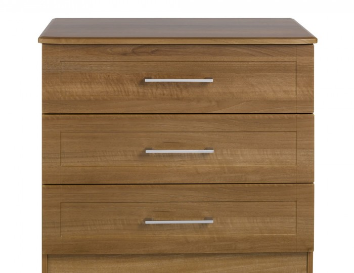 Marcello Walnut 3 Drawer Chest