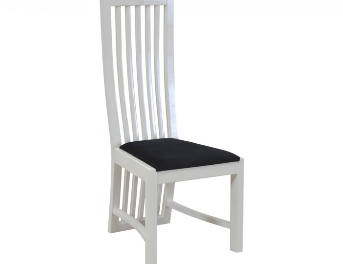 Raphael White and Charcoal Dining Chair