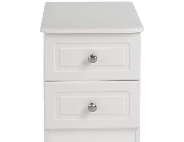 Toliara Cream 2 Drawer Bedside Chest