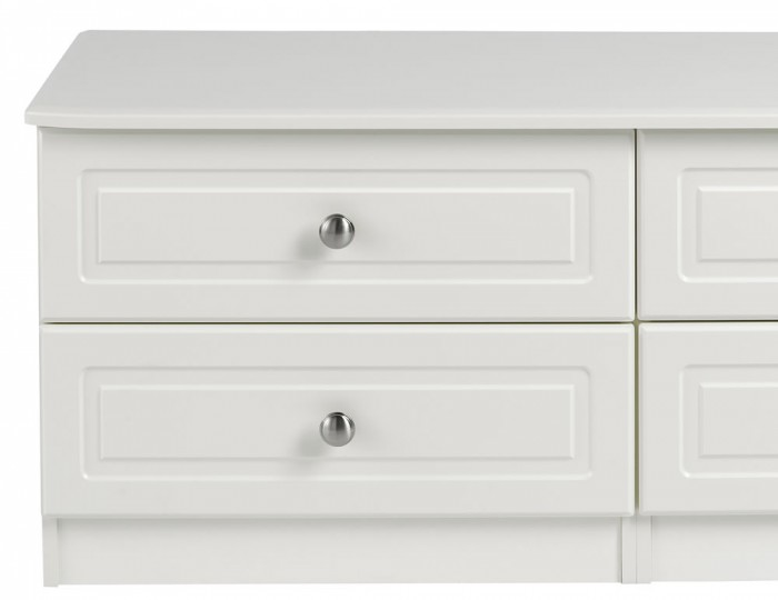 Toliara Cream 4 Drawer Bed Box Chest
