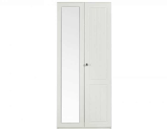 Toliara Cream 2 Door Tall Wardrobe