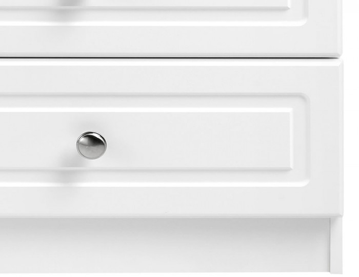 Toliara White 6 Drawer Wide Chest